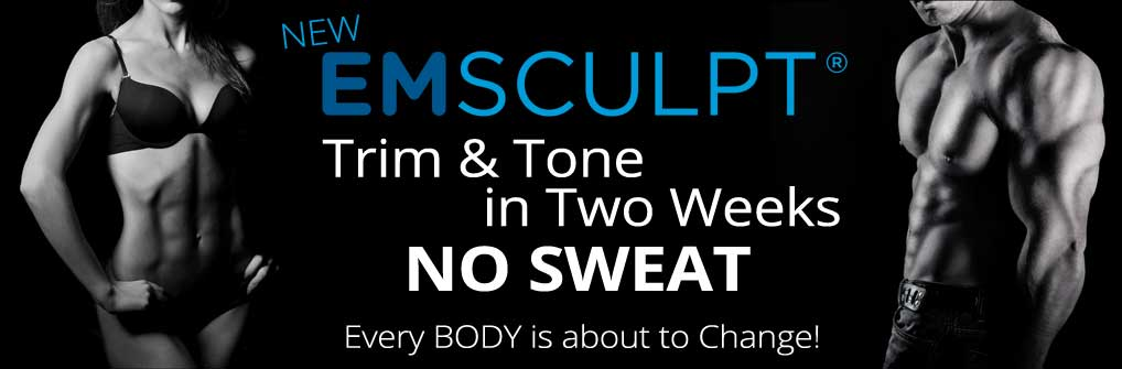 Emsculpt: Trim & Tone in Two Weeks. No Sweat.
